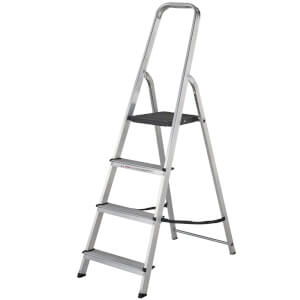 Werner High Handrail Step Ladder - 4 Tread
