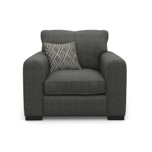 Lewis Armchair - Charcoal