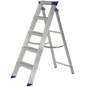 Werner MasterTrade Step Ladder - 5 Tread