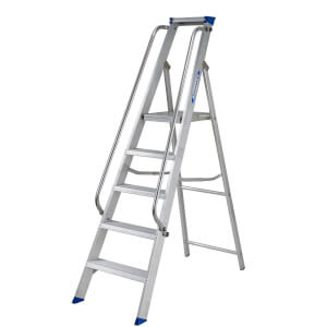 Werner Shop Step Ladder - 5 Tread