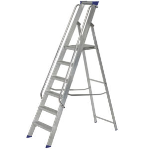 Werner Shop Step Ladder - 6 Tread