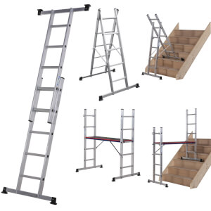 Werner Combination Ladder - 5 in 1 with Platform