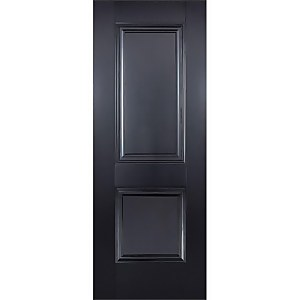 Arnhem Internal Primed Black 2 Panel Door - 686 x 1981mm
