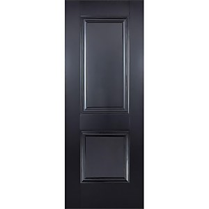 Arnhem Internal Primed Black 2 Panel Door - 762 x 1981mm