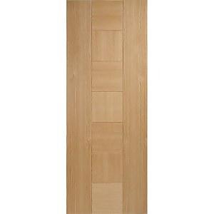 Catalonia Internal Prefinished Oak Fire Door - 762 x 1981mm