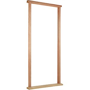 Door Frame and Cill External Unfinished Hardwood With Weather Seal - To Suit Door Size 838 x 1981mm