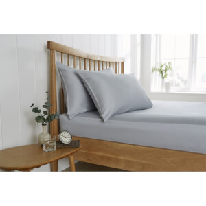 Behrens King Fitted Sheet - Grey