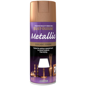 Rust-Oleum Copper - Metallic Spray Paint - 400ml