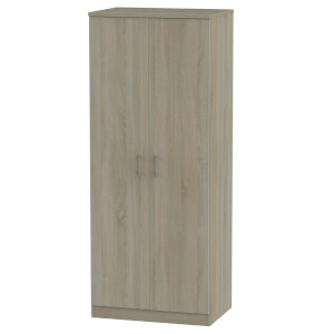 Amalfi Darkolino 2 Door Wardrobe