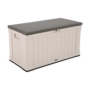 Lifetime Outdoor Plastic Garden Storage Box - 439 Litres