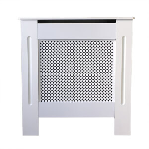 Diamond White Radiator Cover - Mini