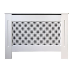 Diamond White Radiator Cover - Small