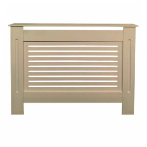 Horizontal Unpainted Radiator Cover - Small