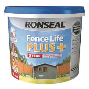 Ronseal Fence Life Plus 9L - Sage