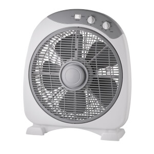 12 Inch Box Fan With Timer