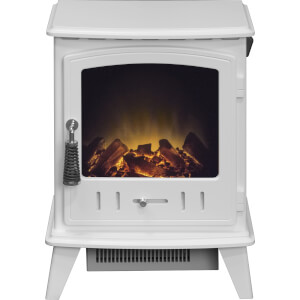 Aviemore White Electric Stove