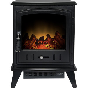 Aviemore Black Electric Stove