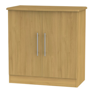 Siena 2 Door Sideboard - Modern Oak