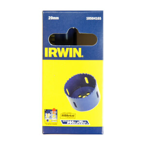 IRWIN Bi-Metal Hole Saw - 20mm