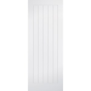 Mexicano - White Primed Internal Fire Door - 1981 x 686 x 44mm