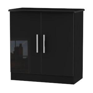 Kensington 2 Door Sideboard - Black