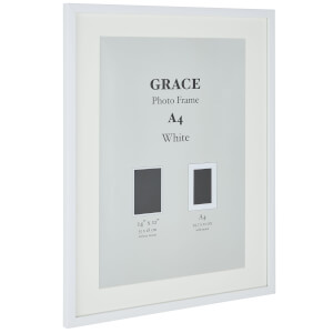 Grace Picture Frame A4 - White