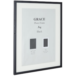 Grace Picture Frame A4 - Black