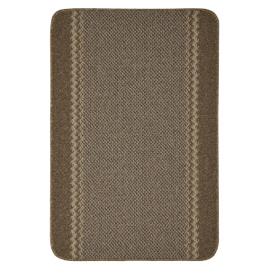 Richmond washable mat -Brown