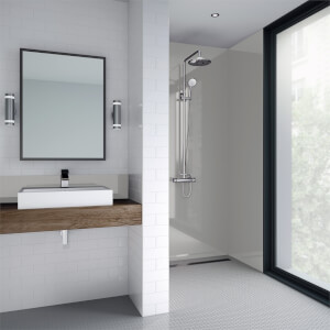 Wetwall White Pearl Gloss - 1220mm - Acrylic