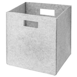 Small Felt Storage Bag - Grey