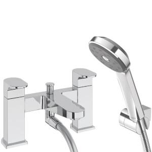 Albany Bath Shower Mixer - Chrome