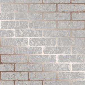 Superfresco Milan Brick Rose Gold Wallpaper