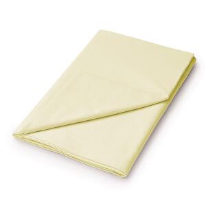 Helena Springfield Plain Dye Flat Sheet - King - Citron