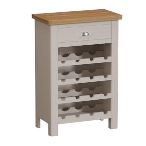 Padstow Wine Cabinet - Truffle