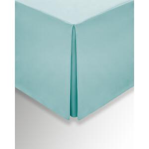 Helena Springfield Plain Dye Valances - Super King - Aquamarine