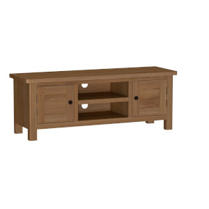 Newlyn Large TV Unit - Oak