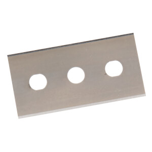 Silverline Pack of 10 Double Sided Scraper Blades - 0.2mm