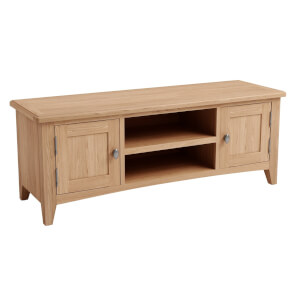 Kea Large TV Unit - Oak