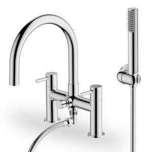 Aber Bath Shower Mixer - Chrome