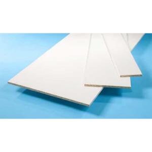 White Furniture Board - 15 x 152 x 2440mm