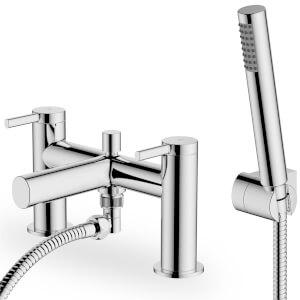 Glenoe Bath Shower Mixer - Chrome