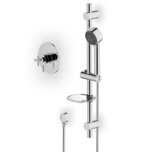 Colwith Thermo Concentric Mix Shower - Chrome