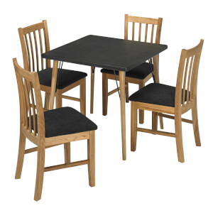 Mercer 4 Seater Dining Set - Brooklyn Dining Chairs