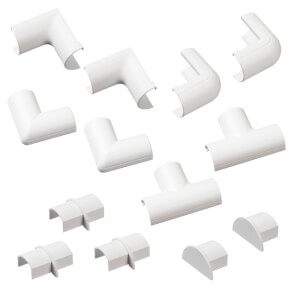 D-Line Micro+ Clip-Over Accessory Multipack - White