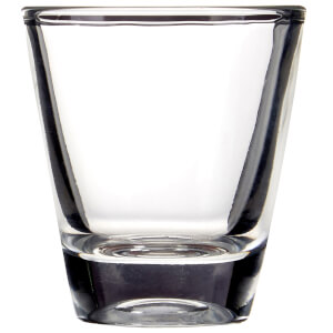 Clear Shot Glasses - 25ml - Set of 6