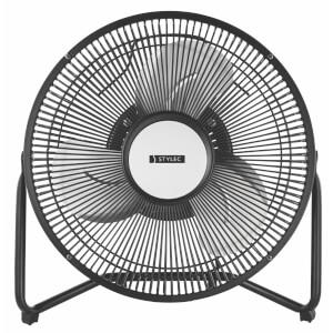 9 Inch Metal Desk Fan - Black