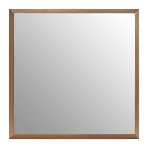 Large Square Gold Wall Mirror