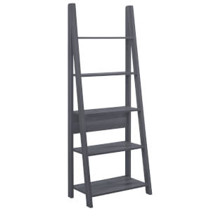 Tiva Ladder Bookcase - Black