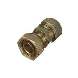 Compression Straight Connector 22mm