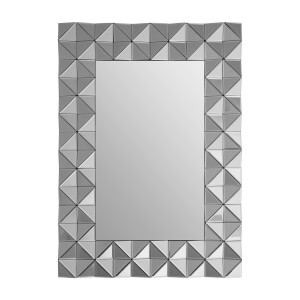 Compton 3D Geometric Wall Mirror